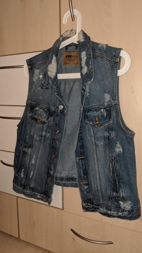 FB Sister Smanicato jeans grigio ardesia