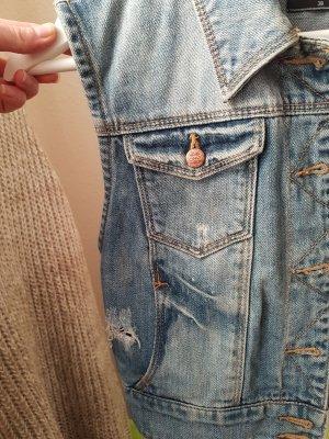Only Smanicato jeans blu scuro