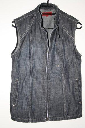 Jeansweste Gr. 38 schwarz