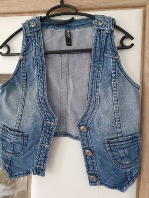 andere Marke Gilet en jean bleu