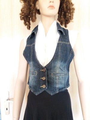Orsay Gilet en jean multicolore coton