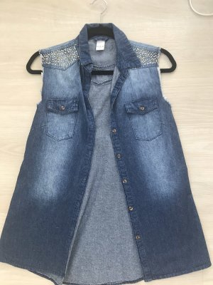 Vila Smanicato jeans blu