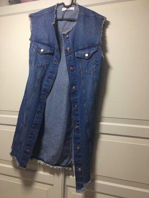 Zara Smanicato jeans blu
