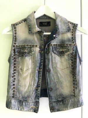 Zara Smanicato jeans multicolore