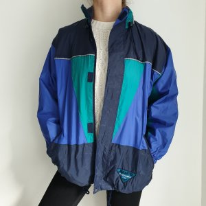 jeantex blau schwarz grün True Vintage Pulli Pullover Jacke Trainigsjacke Hoodie Sweater Oversize