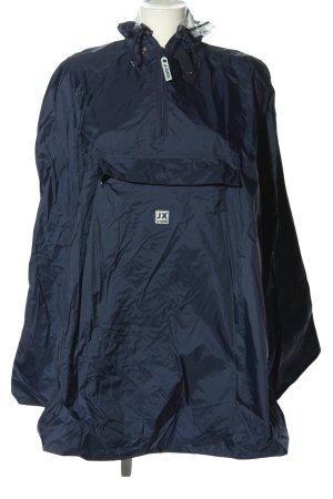 Jeantex Poncho de pluie bleu style décontracté