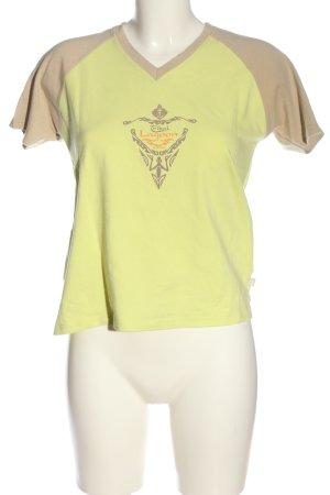 Jeantex V-Ausschnitt-Shirt