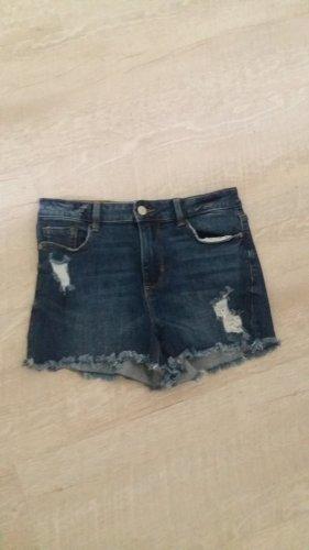 C&A Clockhouse Denim Shorts blue-dark blue