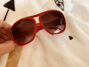 Jee Vice Retro Glasses dark red-pink