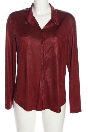 Jeff Gallano Long Sleeve Shirt red casual look