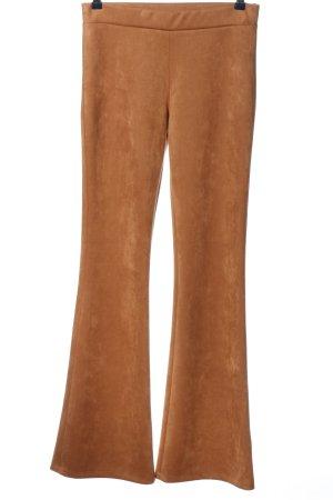 Jeff Gallano Jersey Pants brown casual look