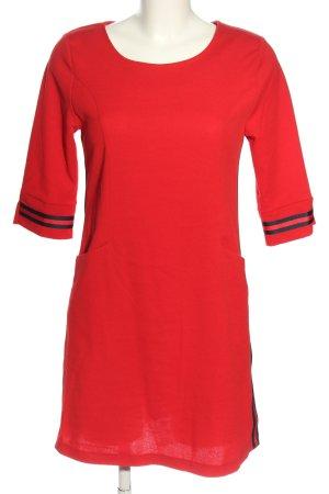 Jeff Gallano Stretch Dress red-black casual look
