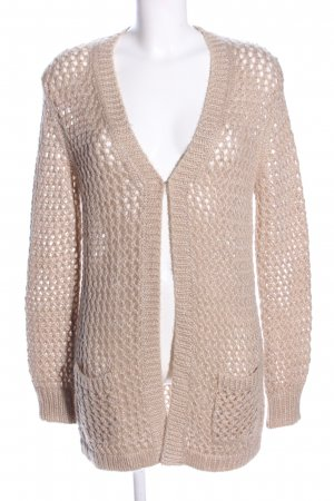 JEFF Crochet Cardigan natural white casual look