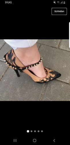 Jeffrey Campbell Strapped pumps bronze-colored