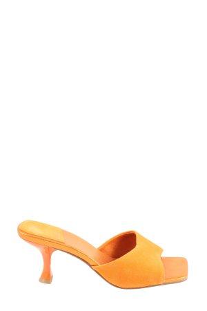 Jeffrey Campbell Zomerschoenen met hak licht Oranje elegant