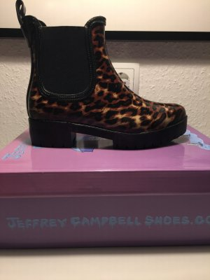 Jeffrey Campbell Tronchetto nero-marrone