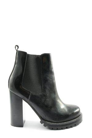 Jeffrey Campbell Chelsea Boot noir style décontracté