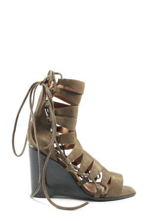 Jeffrey Campbell High Heel Sandaletten braun Casual-Look