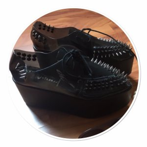 Jeffrey Campbell Sneaker con tacco nero