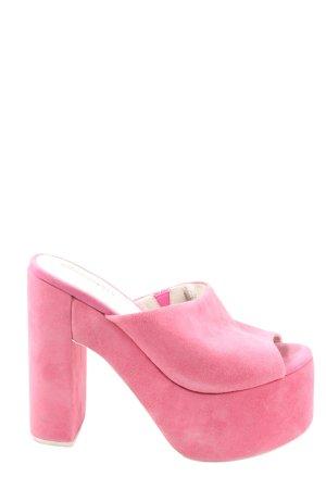 Jeffrey Campbell Plateau-Sandaletten pink Casual-Look