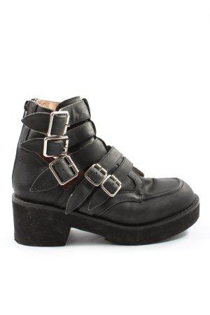 Jeffrey Campbell Reißverschluss-Stiefeletten schwarz Casual-Look
