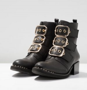 Jeffrey Campbell Booties black-gold-colored