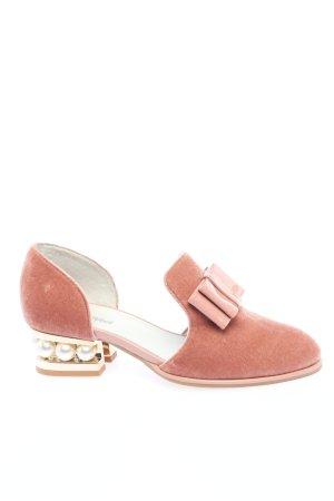 Jeffrey Campbell Loafer rosa elegante