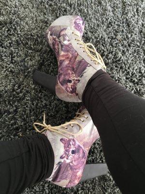 Jeffrey Campbell Wolf Platform Boots