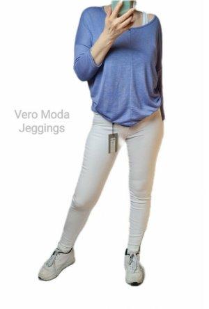 Vero Moda Jeggings white