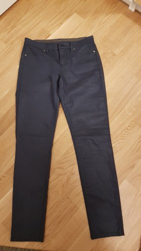 Jegging in Leder-Optik (Blau) von Calvin Klein