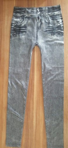 Jegging Slim Fit Jean Optik grey Size S/M