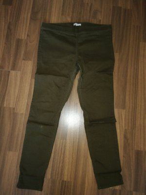 H&M Basic Jeggings green grey
