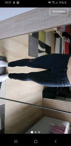 H&M Jeans skinny nero-grigio scuro
