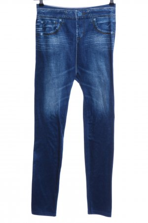 Jeggings blu stile jeans