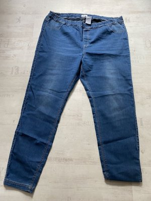 7/8 Length Jeans steel blue spandex