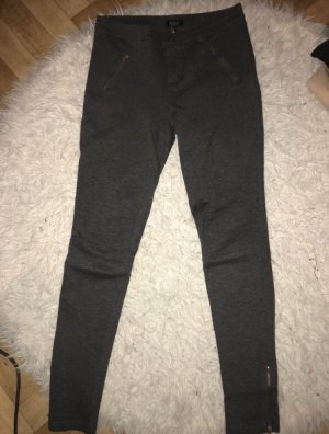 Bershka Jeggings grigio scuro