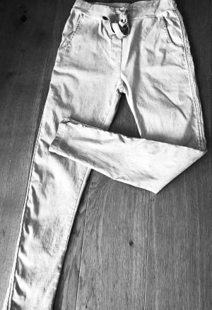 Jeggings Damenhose GRAU Gallonstreifen Größe: 38