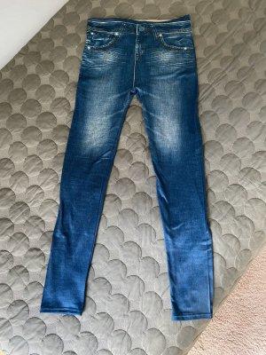 Jeggings im Jeanslook