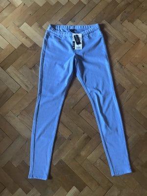 Jeggings, Leggings 34 XS 36 S hellblau blau NEU