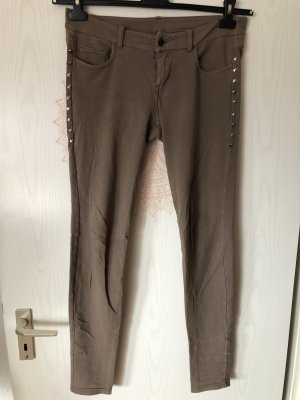 Benetton Jeans Jeggings green grey-gold-colored
