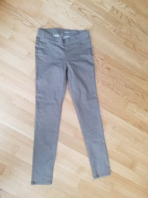 Jeggings (S) in Grau-Braun