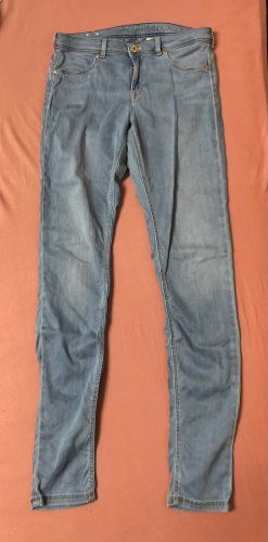 H&M Stretch jeans azuur