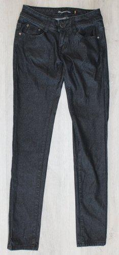 Elegant's Jegging zwart-antraciet