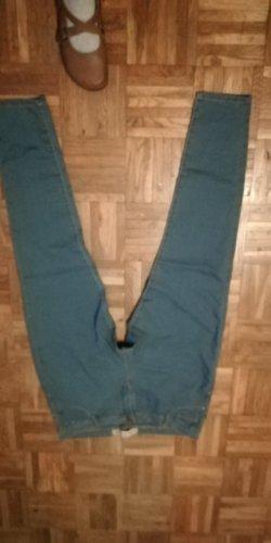 Denim Co. Jeansy ze stretchu błękitny