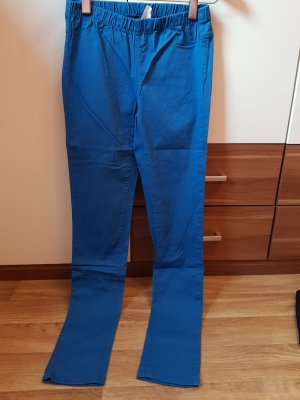Pieces Jeggings blu fiordaliso