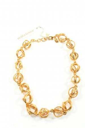 Jennifer Behr Halskette goldfarben Glanz-Optik