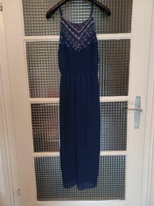 Jennifer Taylor Abend-/Sommerkleid [Marineblau, Muster, Gr. L]