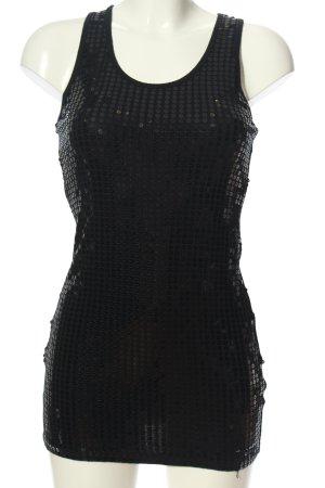 Jennifer Taylor Camisole zwart glitter-achtig