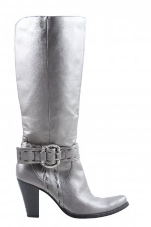 Jennifer Taylor High Heel Boots silver-colored casual look
