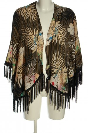 Jennifer Taylor Kimono blouse abstract patroon extravagante stijl